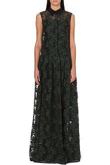 ERDEM Geeta floral-jacquard gown
