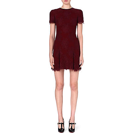 ERDEM Aubrey lace dress (Bordeaux