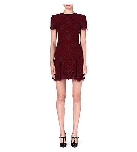 ERDEM Aubrey lace dress (Bordeaux