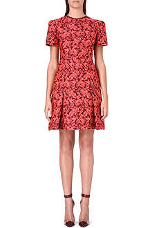 ERDEM Aubrey floral-jacquard dress