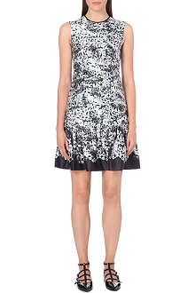 ERDEM Silk-satin printed dress