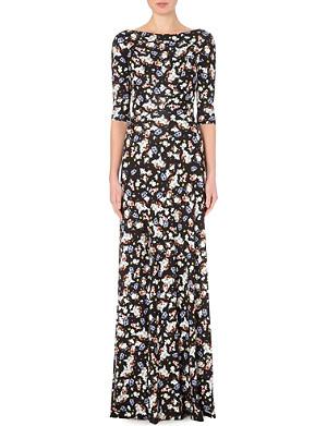 ERDEM Valentina floral-print maxi dress