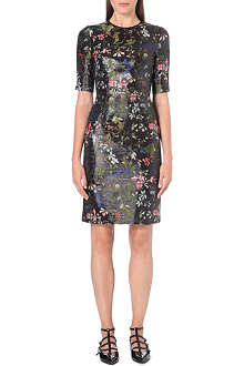 ERDEM Floral brocade dress