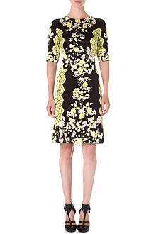 ERDEM Ivy silk-satin dress