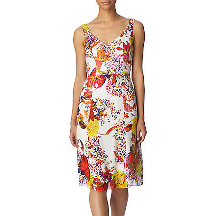ERDEM Clarissa dress (White / multi