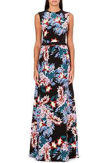 ERDEM Morwenna floral-print silk gown