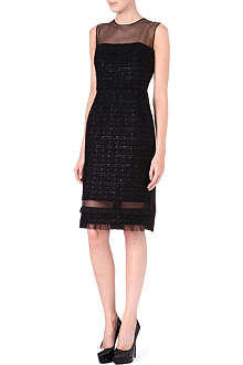 ERDEM Livvie sheer tweed dress