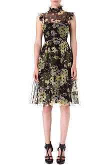 ERDEM Clarity silk-organza dress