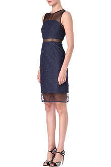 ERDEM Embellished denim dress