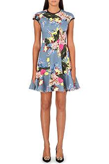 ERDEM Daina floral-print dress