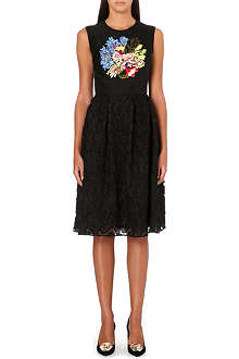 ERDEM Faris embroidered-organza dress