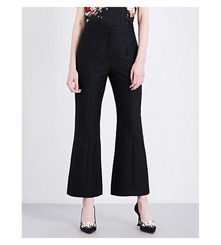 ERDEM Jeda woven trousers (Black