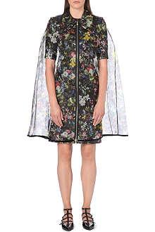 ERDEM Floral silk cape