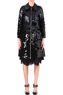 ERDEM Kayleigh sequinned coat