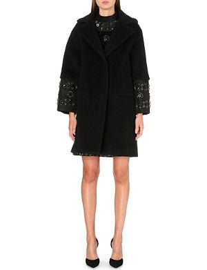 ERDEM Julieta wool-blend coat