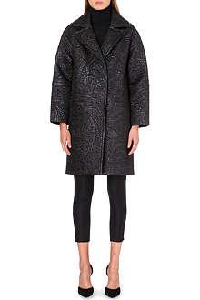 ERDEM Julieta jacquard coat