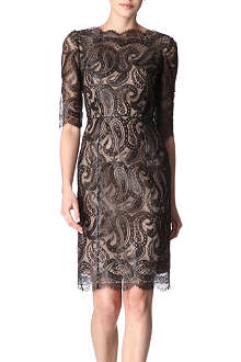 ERDEM Anna paisley-lace dress