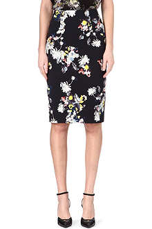 ERDEM Floral pencil skirt