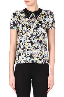 ERDEM Karina lace-collar top