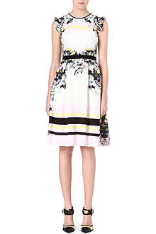 ERDEM Lelani floral-print silk dress