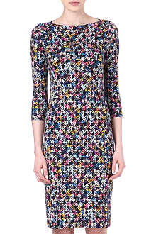 ERDEM Reese check-print dress