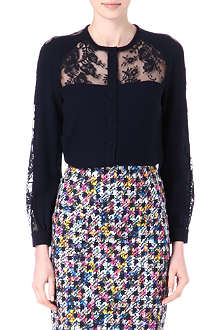 ERDEM Sue lace-detail blouse