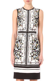 ERDEM Tali printed silk dress