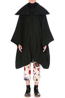 YOHJI YAMAMOTO Oversized raglan-sleeve coat