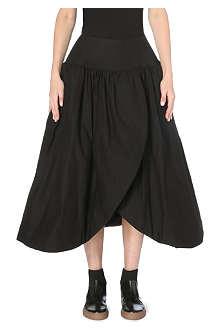 YOHJI YAMAMOTO Structured cotton skirt