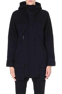 YOHJI YAMAMOTO Hooded wool coat