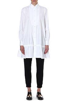 YOHJI YAMAMOTO Drawstring shirt dress