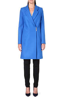 VICTORIA BECKHAM Wrap-style wool-blend coat