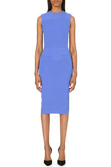 VICTORIA BECKHAM Icon pocket-front silk-blend dress