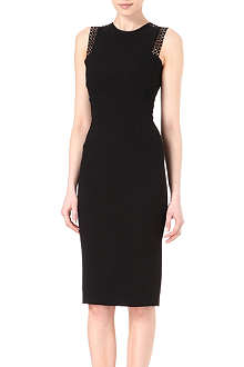 VICTORIA BECKHAM Lattice lace dress