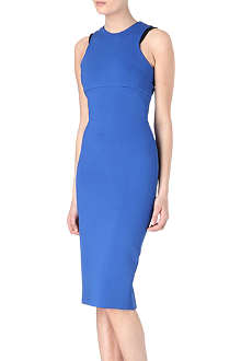VICTORIA BECKHAM Racer fitted dress