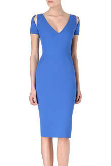 VICTORIA BECKHAM Slash shoulder dress