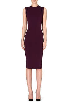 VICTORIA BECKHAM Crepe shift dress