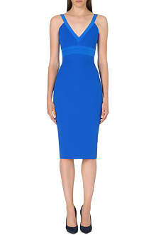 VICTORIA BECKHAM Cami silk-blend dress