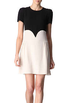VICTORIA VICTORIA BECKHAM Heart seam dress