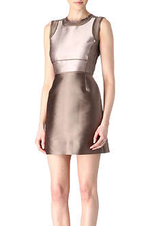 VICTORIA VICTORIA BECKHAM Satin and organza dress