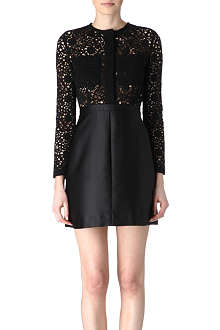 VICTORIA VICTORIA BECKHAM Lace and satin dress