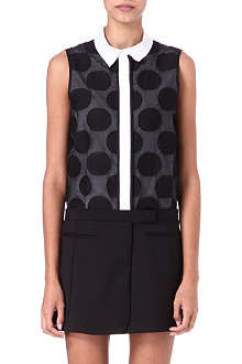 VICTORIA VICTORIA BECKHAM Sleeveless shirt dress
