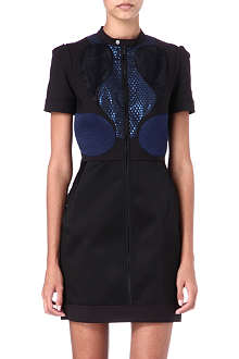 VICTORIA VICTORIA BECKHAM Panelled dress