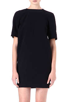 VICTORIA VICTORIA BECKHAM Crepe tunic dress