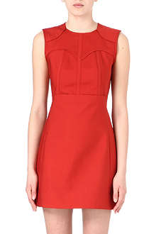 VICTORIA VICTORIA BECKHAM Panel detail dress