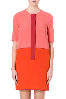 VICTORIA VICTORIA BECKHAM Colourblock tunic dress