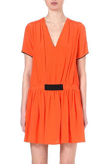 VICTORIA VICTORIA BECKHAM Drop waist dress