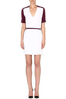 VICTORIA VICTORIA BECKHAM Contrast back dress