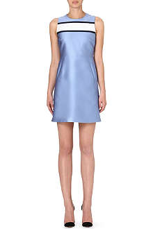 VICTORIA VICTORIA BECKHAM Contrast shift dress