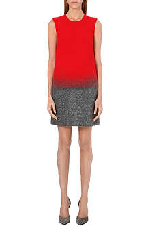 VICTORIA VICTORIA BECKHAM Ombré fade shift dress